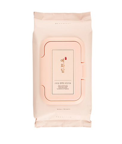 [THEFACESHOP] YEHWADAM Deep Moisturizing Cleansing Oil Wipes (x50)