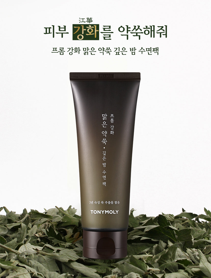 [TONYMOLY] From Clear Mugwort Midnight Sleeping Pack 100ml