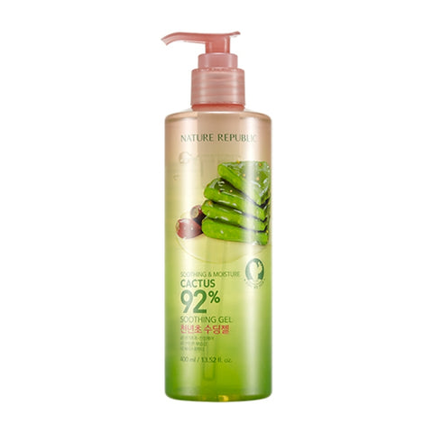 [NATUREREPUBLIC] Soothing & Moisture Cactus 92% Soothing Gel 400ml