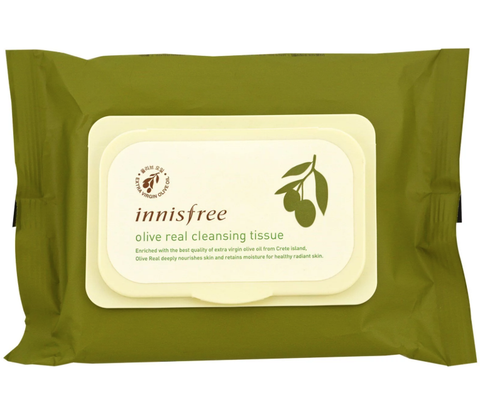 [INNISFREE] Olive Real Cleansing Tissue (30 Sheets)