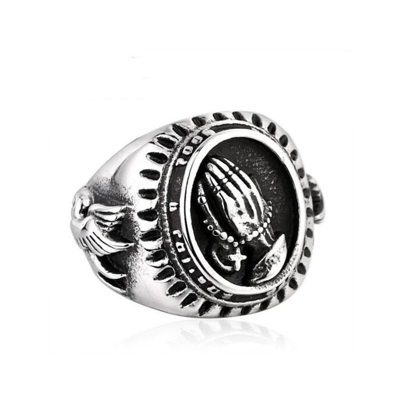 Prayer Hands Ring