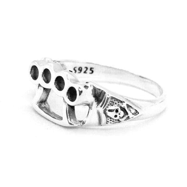 Knuckle Duster 925 Ring