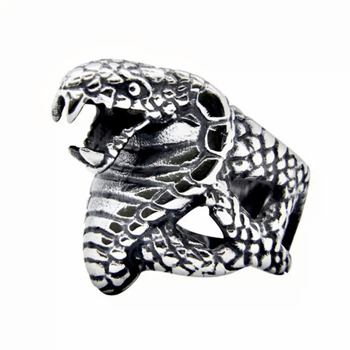 King Cobra Snake Ring