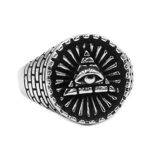 Vintage Eye of Providence Ring