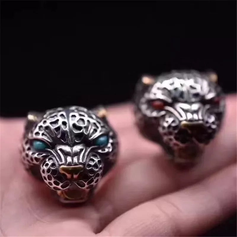 925 Native Jaguar Ring