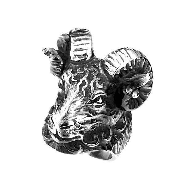 Ram Head Ring