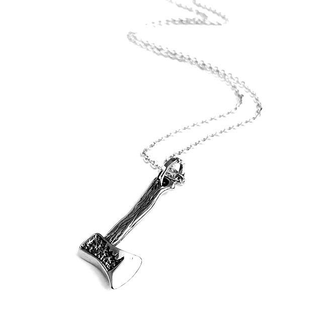 Vintage Axe Necklace