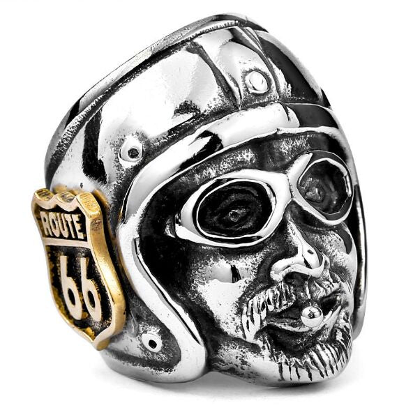Old School Biker Ring