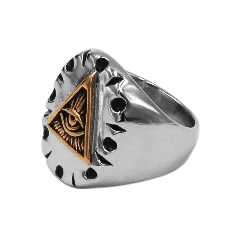 Pyramid Mexican Biker Ring