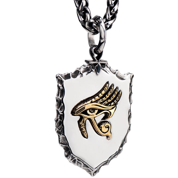 Eye of Horus Ancient Badge Necklace