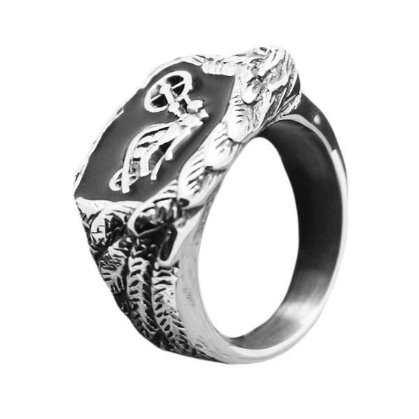 Ghost Rider Eagle Biker Ring