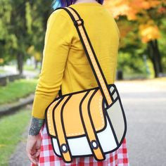 2D Cartoon Bags