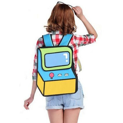 HelloDefiance, Lime Video Arcade - 2D Bag, best, HelloDefiancecheap
