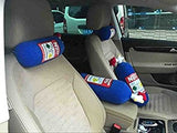 Stuffed NOS Bottle Headrest Pillow