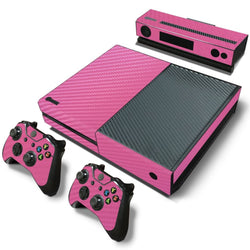 Pink Carbon Fiber Skin - Xbox One Protector