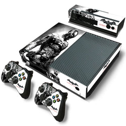 Arkham Knight (Black & White) Skin - Xbox One Protector
