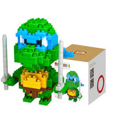 HelloDefiance, Leonardo - Ninja Turles - Collectible Display Blocks, best, HelloDefiancecheap