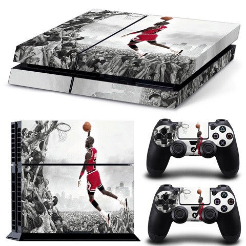 Michael Jordan Chicago Bulls Playstation 4 Vinyl Wrap