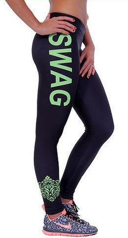 HelloDefiance, SwagFit Leggings - Green Tea, best, HelloDefiancecheap
