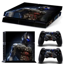 batman arkham knight playstation 4 custom sticker vinyl wrap decal dc superheroes