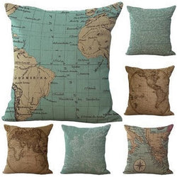World Traversal Pillow Case