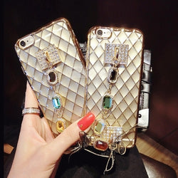 Bling Lace Case w/ Bow