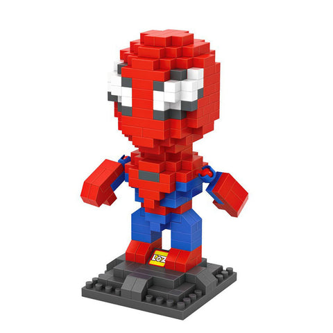 HelloDefiance, Spiderman - Collectible Display Blocks, best, HelloDefiancecheap