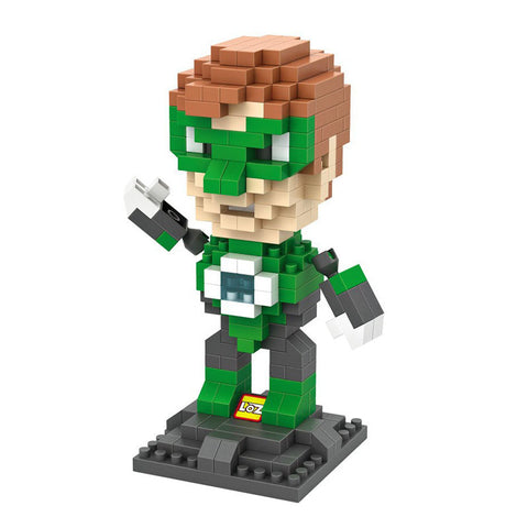 HelloDefiance, Green Lantern - Collectible Display Blocks, best, HelloDefiancecheap