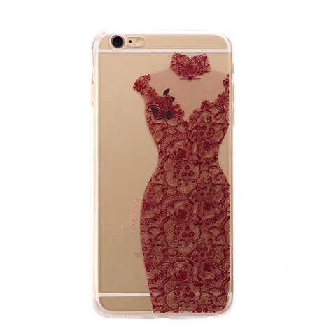 HelloDefiance, Vibrant Red Dress for iPhone 6 Models, best, HelloDefiancecheap