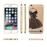 HelloDefiance, Classic Black Lace Dress for iPhone 6 Models, best, HelloDefiancecheap