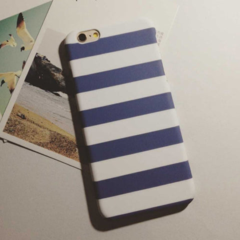 HelloDefiance, Navy Stripes for iPhone 5/6 Models, best, HelloDefiancecheap
