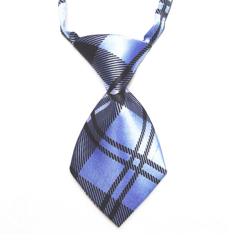 HelloDefiance, Blue Check-Stripes Dog Tie, best, HelloDefiancecheap