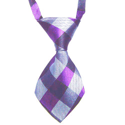 HelloDefiance, Purple & Grey Cross-Check Dog Tie, best, HelloDefiancecheap
