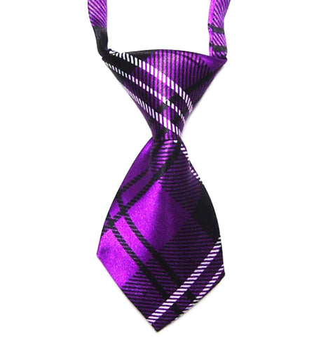 HelloDefiance, Purple Check-Stripes  Dog Tie, best, HelloDefiancecheap