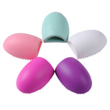 Makeup Brush Eggs - Cleaner & Application Adjust