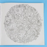 HelloDefiance, 24 Pages Wonderland Exploration Flower Adult Coloring Book, best, HelloDefiancecheap