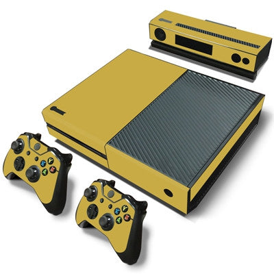 HelloDefiance, Gold Basic Colors Skin - Xbox One Protector, best, HelloDefiancecheap