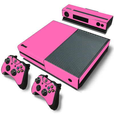 HelloDefiance, Hot Pink Basic Colors Skin - Xbox One Protector, best, HelloDefiancecheap