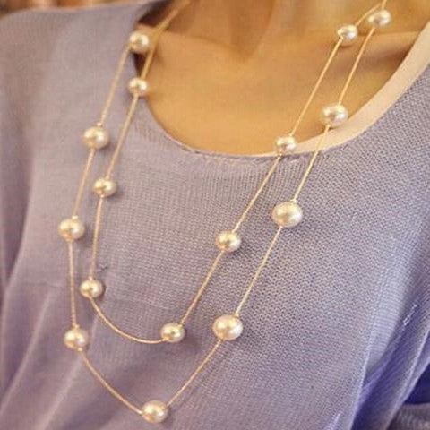 Pearl Collier Necklace