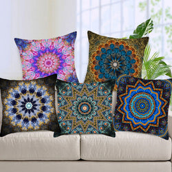 Mandala Pillow Case