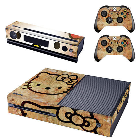 HelloDefiance, Hello Kitty Rustic Skin - Xbox One Protector, best, HelloDefiancecheap