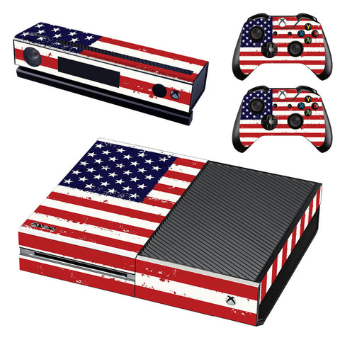 HelloDefiance, Vintage Flag Skin - Xbox One Protector, best, HelloDefiancecheap