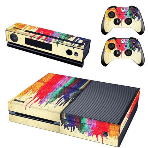 HelloDefiance, Bleeding Colors - Xbox One Protector, best, HelloDefiancecheap