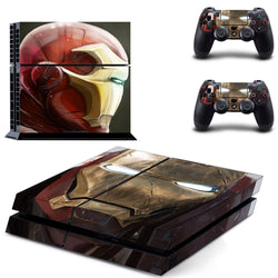 Iron Man Skin - PS4 Protector