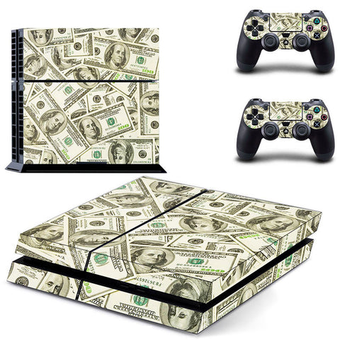Make It Rain Skin - PS4 Protector