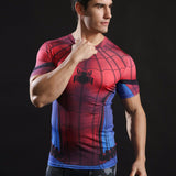 HelloDefiance, Spiderman Short-Sleeve Fitness Shirt, best, HelloDefiancecheap
