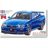 HelloDefiance, Nissan R34 GTR Model Car Kit, best, HelloDefiancecheap