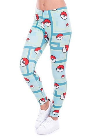 HelloDefiance, PokeBallah Leggings, best, HelloDefiancecheap