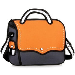 Orange Bold Handbag - 2D Bag