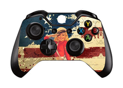 HelloDefiance, Controller Protector - American Pin-Up Skin - Xbox One, best, HelloDefiancecheap